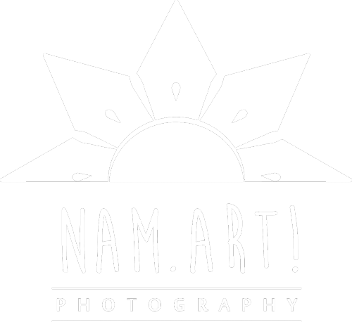 logo nam art photo blanc